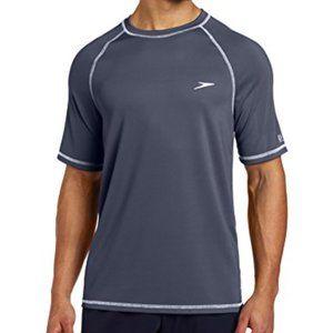 Speedo Men's Easy Swim Short Sleeve Shirt XL